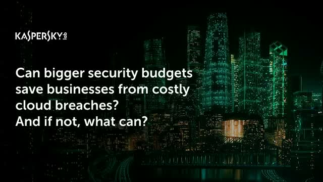 Can bigger security budgets save businesses from costly cloud breaches?