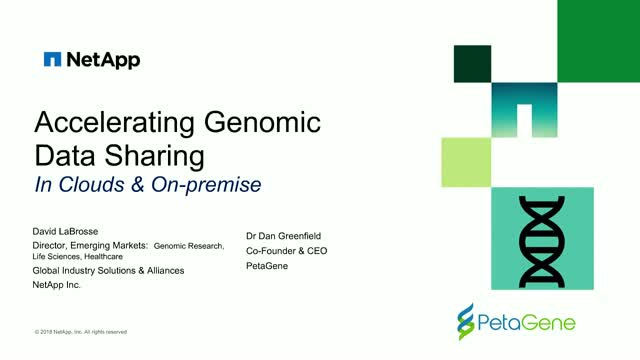 Accelerating Genomic Data Sharing in Clouds & On Premise
