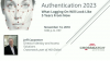 Authentication 2023: What Logging On Will Look Like 5 Years From Now