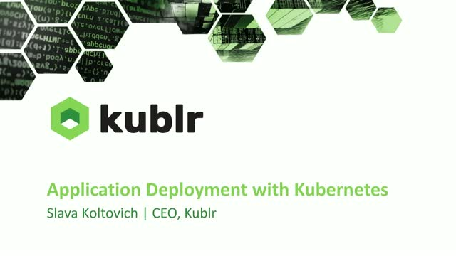 Application Deployments with Kubernetes