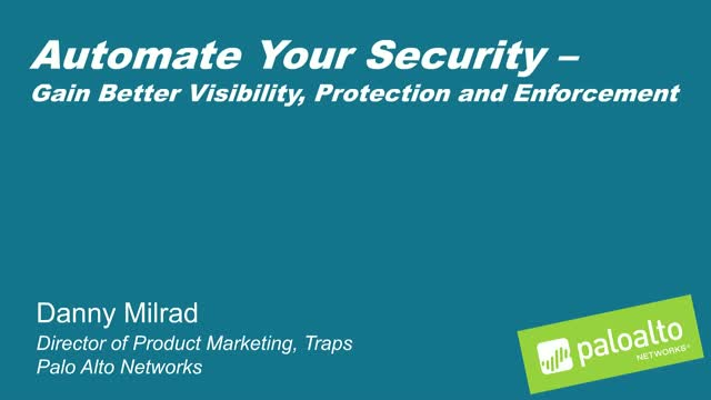 Endpoint and Network Security: Better Together