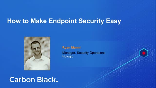 How to Make Endpoint Security Easy
