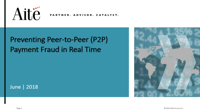 How to Prevent Peer-to-Peer (P2P) Payment Fraud in Real-Time