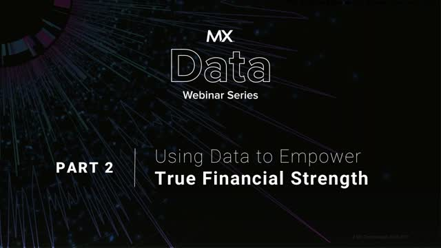 Using Data to Empower True Financial Strength