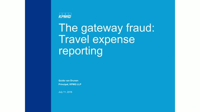 How expense report misconduct is the gateway drug into larger occupational fraud
