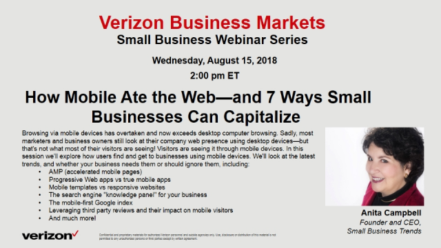 How Mobile Ate the Web—and 7 Ways Small Businesses Can Capitalize