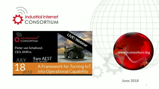 A Framework to turn IoT Technology into Operational Capability for Mining