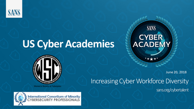 Increasing Cyber Workforce Diversity