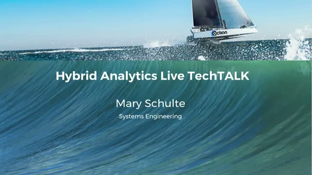 Hybrid Data Analytics Live TechTALK