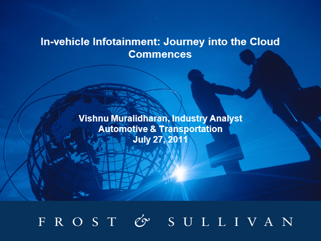In-vehicle Infotainment Journeys Into the Cloud