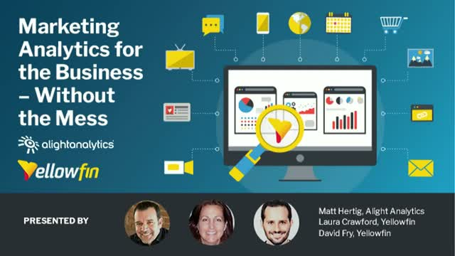 Part 3 of 3: Marketing Analytics  –Without the Mess!