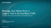 Best Practices for Making the Move from Legacy ITSM to ServiceNow