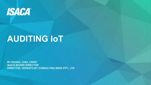Auditing IoT