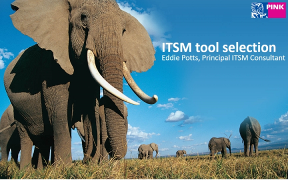 How to select an ITSM tool