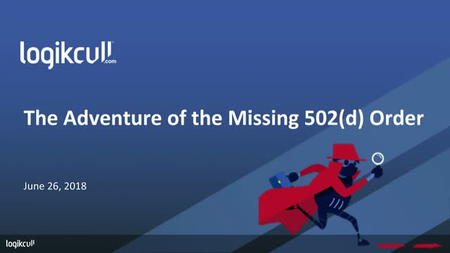 Judge Peck and the Adventure of the Missing 502(d) Order