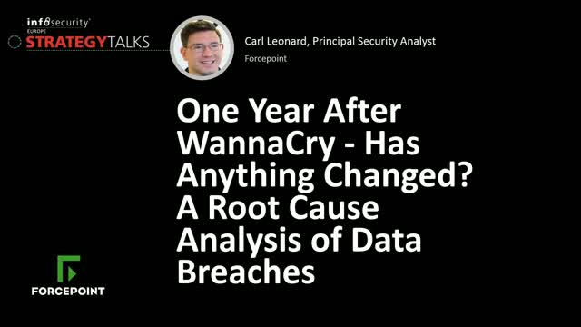One Year After WannaCry - Has Anything Changed?