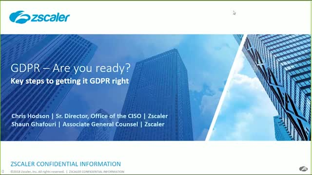 GDPR - are you ready? Key steps to getting GDPR right