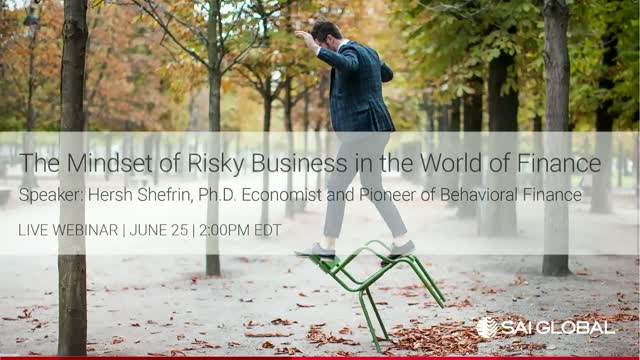 The Mindset of Risky Business in the World of Finance