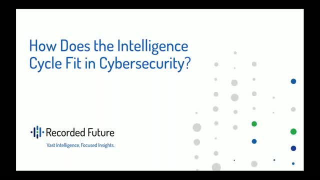 How Does the Intelligence Cycle Fit in Cybersecurity?