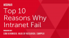 Top 10 Reasons why Intranets Fail