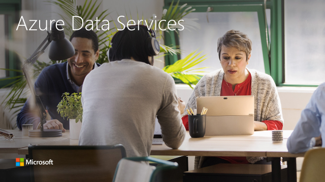 Innovate faster with Azure SQL DB and data services