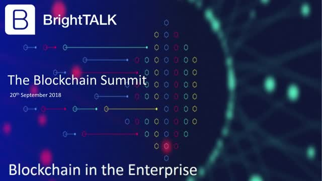 Blockchain in the Enterprise