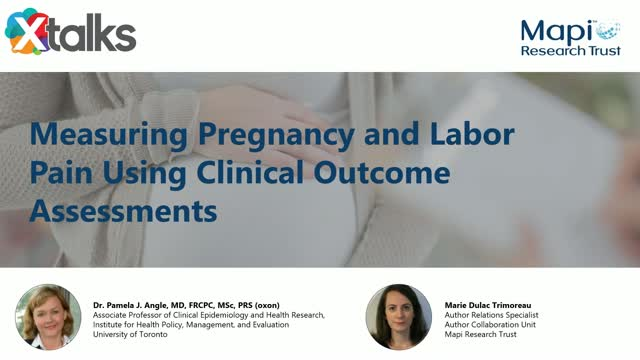 Measuring Pregnancy and Labour Pain Using Clinical Outcome Assessments