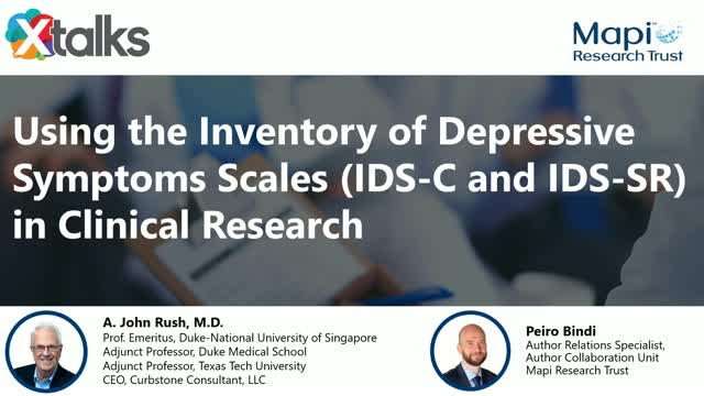 Using the Inventory of Depressive Symptoms Scales (IDS-C and IDS-SR) in Clinical
