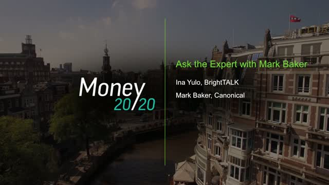 Ask the Expert with Mark Baker from Canonical