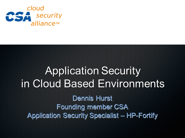 Cloud Security and Its Impact on Application Security