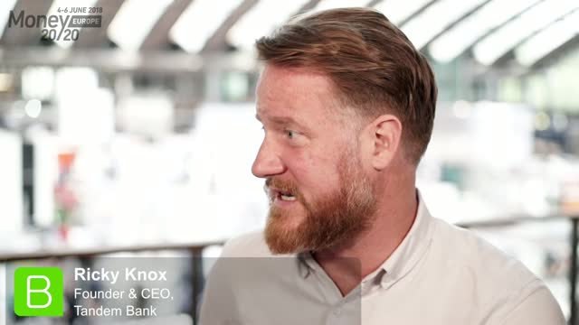 Money20/20 Europe Interview - Ricky Knox, Tandem Bank