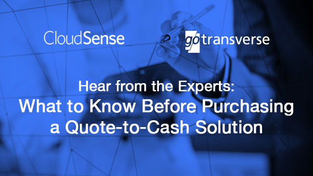 What to Know Before Purchasing a Quote-to-Cash Solution