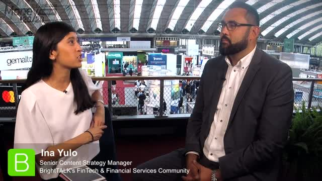 Money20/20 Europe Interview - Michel Roig, Fingerprint cards