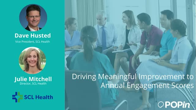 Driving Meaningful Improvement to Annual Employee Engagement Scores