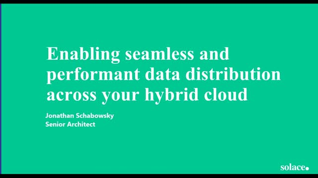 Enabling Seamless and Performant Data Distribution Across Your Hybrid Cloud