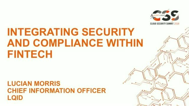 Integrating Security and Compliance within Fintech