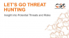 Let's Go Threat Hunting: Insight into Potential Threats and Risks