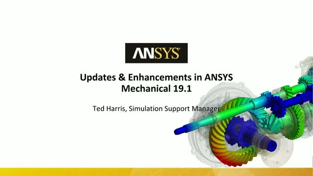 Updates and Enhancements in ANSYS Mechanical 19.1