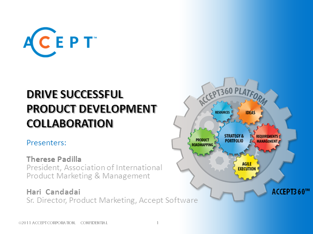 Drive Successful Product Development Collaboration