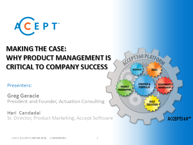 Making the Case: Why Product Management is Critical to Company Success