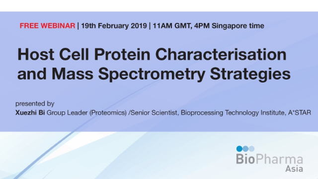 Host Cell Protein Characterisation and Mass Spectrometry Strategies