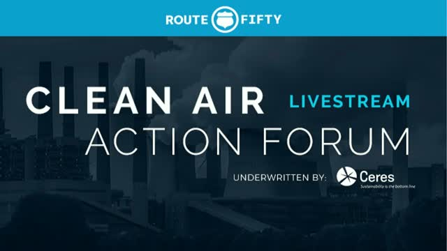 Clean Air Action Forum: Taking the Reins if the Environmental Movement