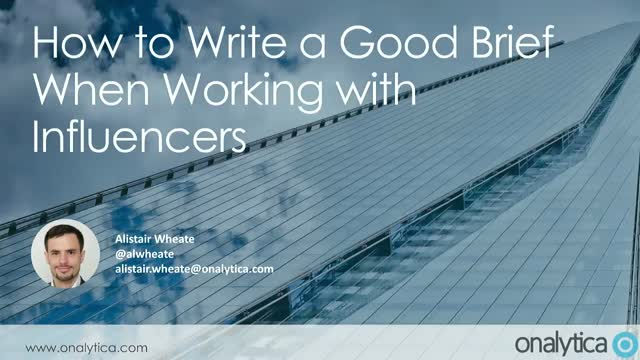 How to Write a Good Brief When Working with Influencers