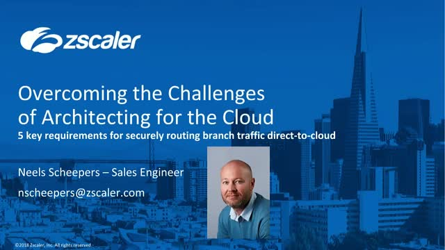 Overcoming the Challenges of Architecting for the Cloud