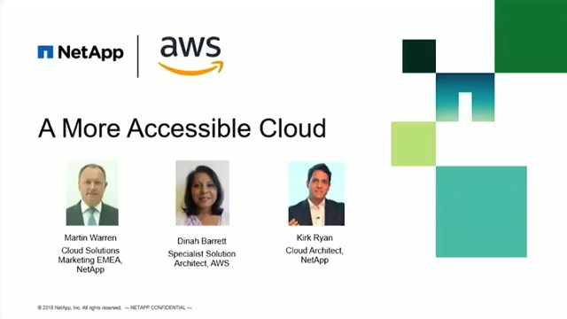 AWS & NetApp Use Cases: Making a More Accessible Cloud