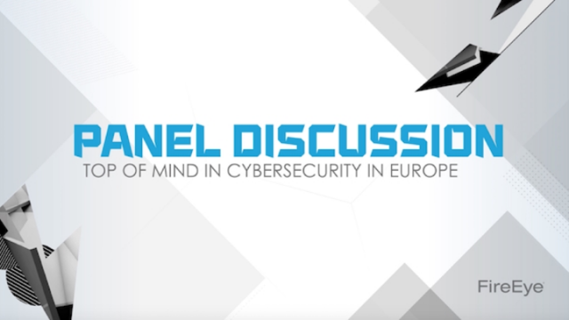 [VIDEO PANEL] Cyber Security in Europe: An Executive Perspective