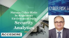 How to Manage Cyber Risks in a Regulatory Environment with Security Analytics