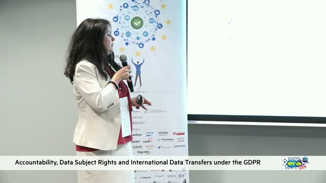 Accountability, Data Subject Rights and International Data Transfers under the G