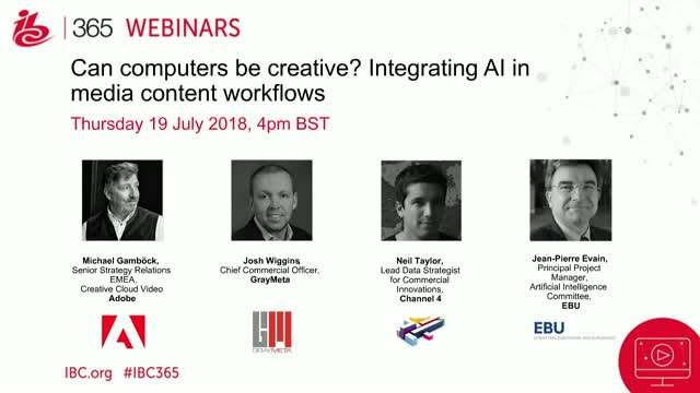 Can computers be creative? Integrating AI in media content workflows