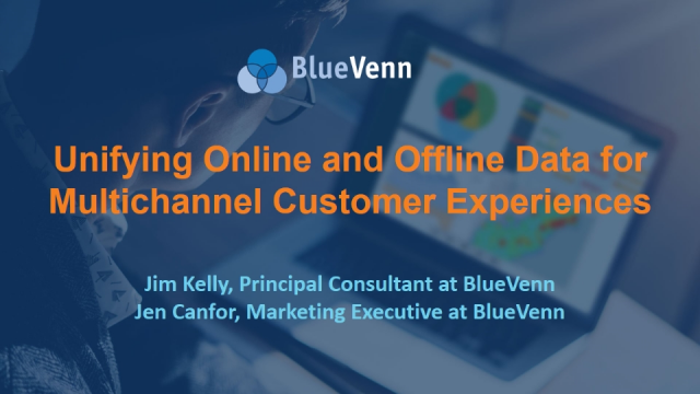 Unifying Online and Offline Data for Multichannel Customer Experiences